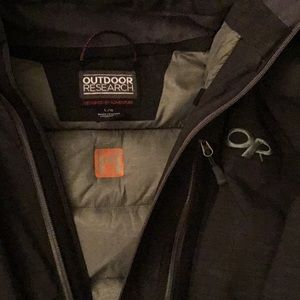 Outdoor Research coat size Large w detachable hood